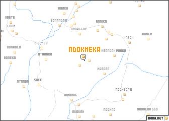 map of Ndokméka