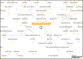 map of Neddernhof