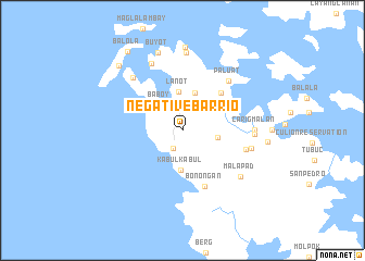 map of Negative Barrio