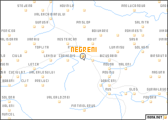 map of Negreni