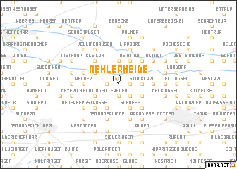 map of Nehlerheide