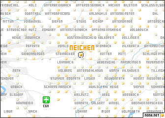 map of Neichen