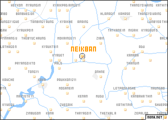 map of Neikban