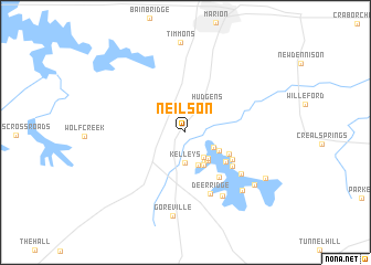 map of Neilson