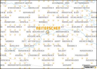 map of Neiterschen