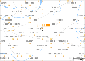 map of Nekielka
