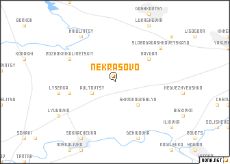 map of Nekrasovo