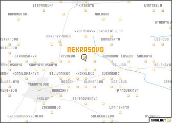 map of Nekrasovo