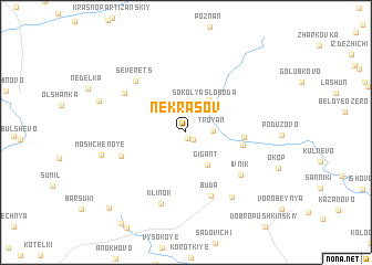 map of Nekrasov