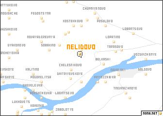 map of Nelidovo