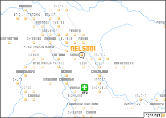 map of Nelsoni