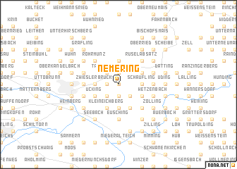 map of Nemering
