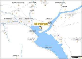 map of Nerdrum