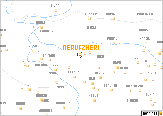 map of Nērva Zhērī