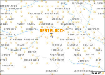 map of Nestelbach