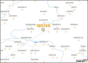 map of Nesteri