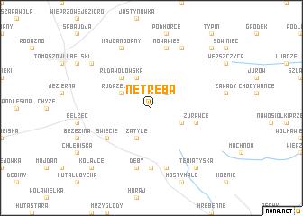 map of Netreba
