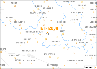 map of Netrizova
