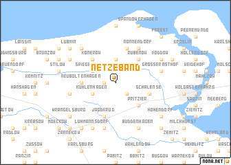 map of Netzeband