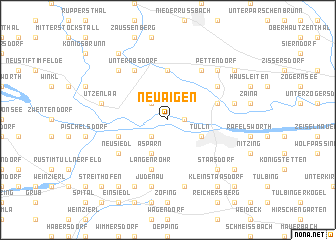 map of Neuaigen