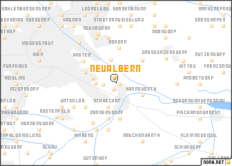 map of Neu-Albern