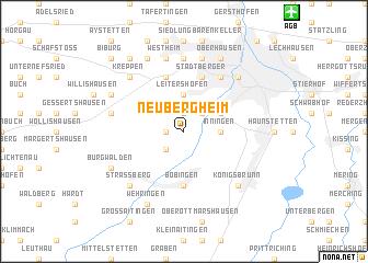 map of Neubergheim