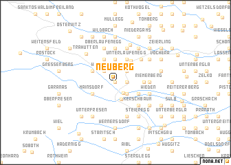 map of Neuberg