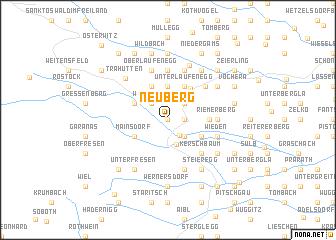 map of Neuberg