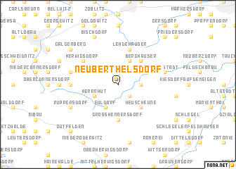 map of Neuberthelsdorf