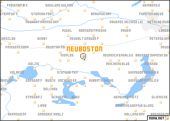 map of Neu Boston