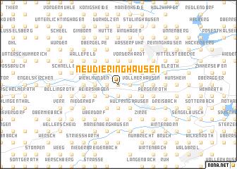 map of Neudieringhausen