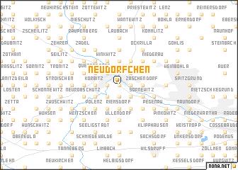 map of Neudörfchen