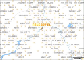 map of Neudörfel