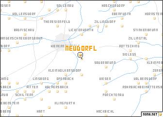 map of Neudörfl