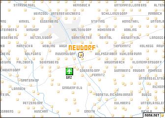 map of Neudorf