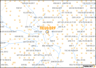 map of Neudorf