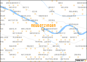 map of Neu Dötzingen