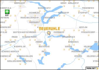 map of Neuemühle