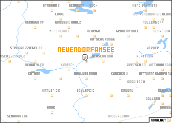 map of Neuendorf am See