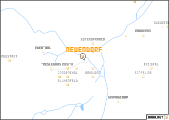 map of Neuendorf