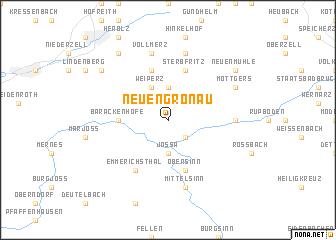 map of Neuengronau