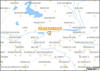 map of Neuenhagen