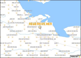 map of Neuenkirchen