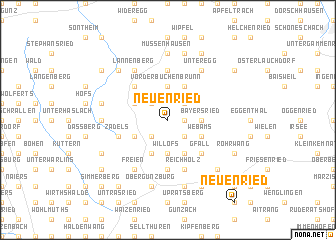 map of Neuenried