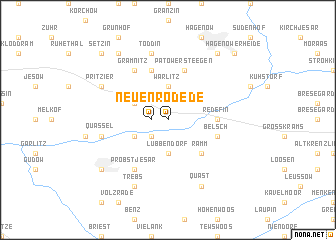 map of Neuenrode