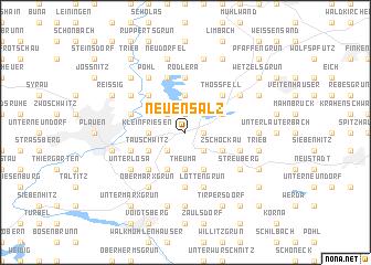 map of Neuensalz