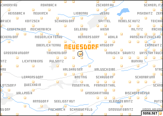 map of Neues Dorf
