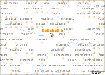 map of Neuessing