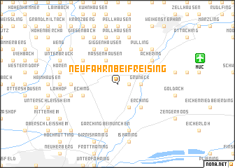 Freising Germany Map.Neufahrn Bei Freising Germany Map Nona Net