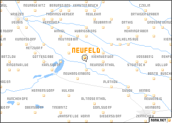map of Neufeld